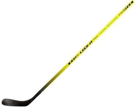 Хоккейная клюшка Leco IT Pro Force Control 70, 160 см, желтая, левая