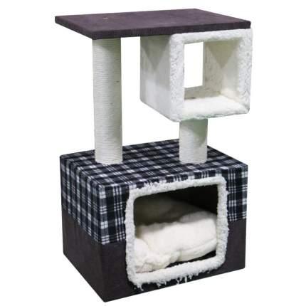 Комплекс для кошек Pet Choice, шоколадный, 40х30х67 см