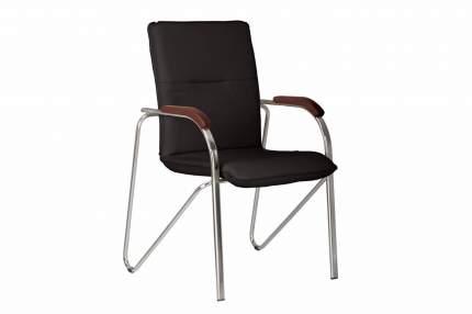 Офисный стул Hoff Samba, хром/черный