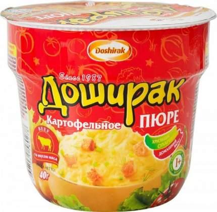 Пюре картофельное Доширак со вкусом мяса 40 г
