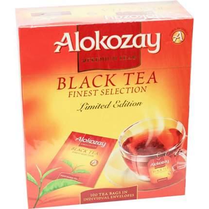 Чай черный Alokozay байховый 100 в пакетиках