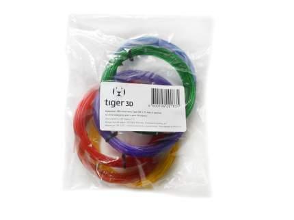 Комплект SBS-пластика Tiger3D 1.75 мм, 6 цветов по 10 метров (TGRSBS175)