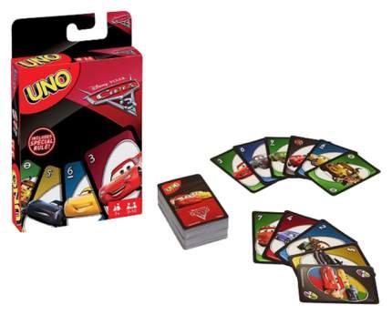 Семейная настольная игра Mattel UNO Cars3