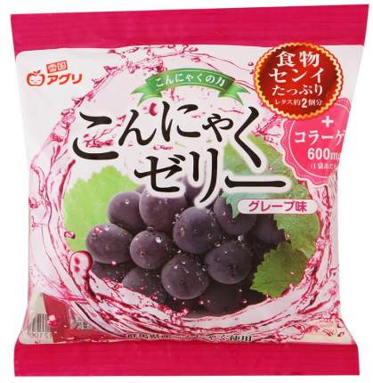 Десерт конняку Yukiguni с соком винограда желе порционное 115 г