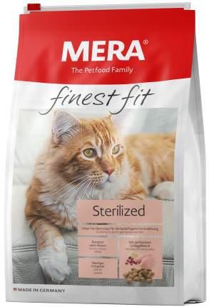 Сухой корм для кошек MERA Finest Fit Sterilized, для стерилизованных, курица, 0,4кг