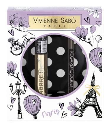 Подарочный набор Vivienne Sabo Cabaret Premiere тон 01 + Regard Сoquet тон 301