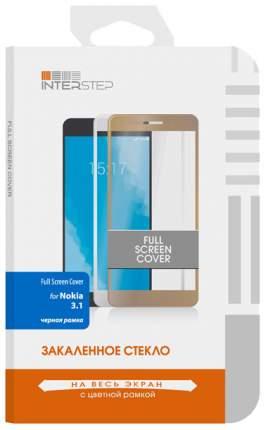 Защитное стекло InterStep для Nokia 3.1 (2018) Black