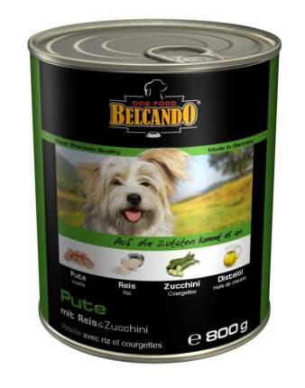 Консервы для собак BELCANDO Super Premium, отборное мясо с овощами, 800г