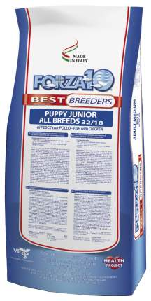 Сухой корм для щенков Forza10 Best Breeder Puppy Junior, курица, рыба, 20кг
