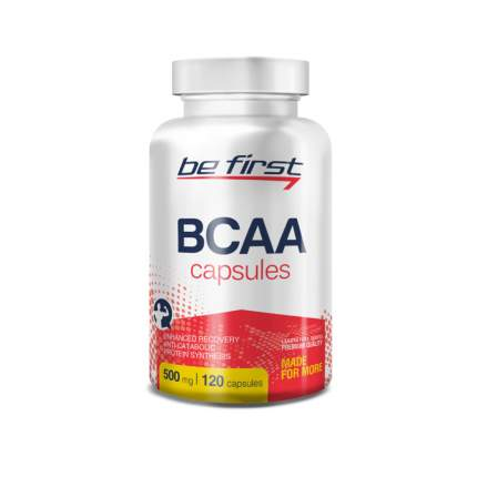 Be First BCAA Capsules 120 капсул без вкуса