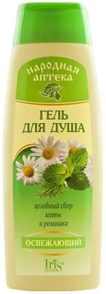 Гель для душа Iris Cosmetic с экстрактом мяты и ромашки
