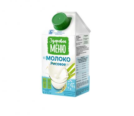 Молоко рисовое Здоровое Меню 0.5 л