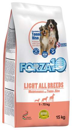 Сухой корм для собак Forza10 Maintenance Light, рыба, рис, 15кг