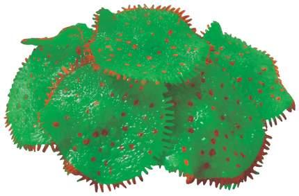 Искусственный коралл JELLY-FISH Актиния светящийся, зеленый, 10х10х8 см