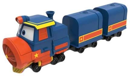 Паровозик с двумя вагонами Robot Trains Виктор