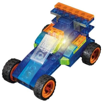 Конструктор пластиковый Crystaland Светящийся 3 в 1 Автомобиль, 62 детали