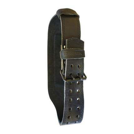 IRONMAN Ремень K10 кожаный 2-х слойный (широкий) (3)