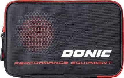 Чехол для ракетки Donic Phase черный/красный