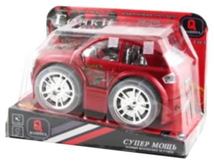 Игрушечная машинка Gratwest Супер мощь гонки красная Б31771
