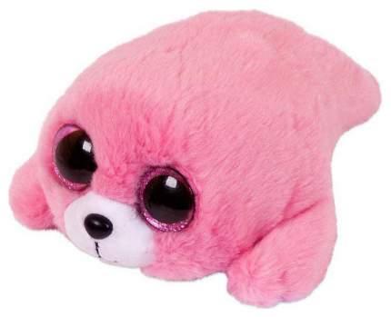 Мягкая игрушка ABtoys Тюлень, розовый, 18 см