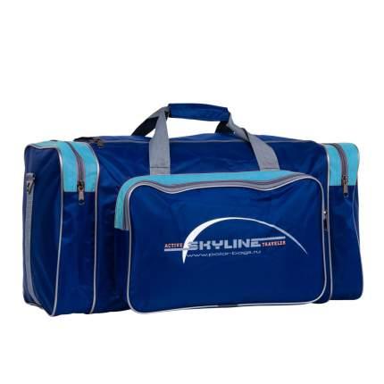 Дорожная сумка Polar 6008/6 голубая 56 x 30 x 30