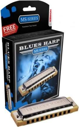 Губная гармоника диатоническая HOHNER Blues Harp 532/20 MS D