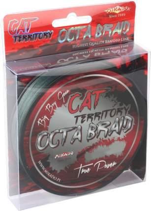 Леска плетеная Mikado Cat Territory Octa 1,2 мм, 30 м, 153 кг