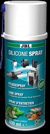 Силиконовый спрей JBL Silicone для ухода за техникой в аквариумах и садовых прудах, 400 мл