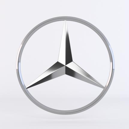 эмблема MERCEDES-BENZ A6387580058