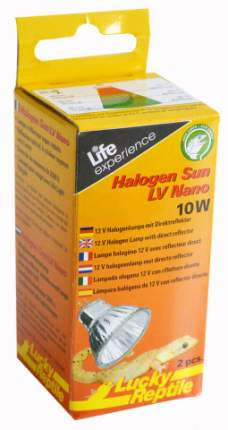 """Лампа галогеновая LUCKY REPTILE """"Halogen Sun Nano10Вт, 2шт"""""""