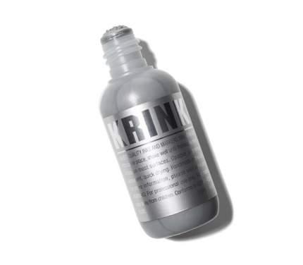 Сквизер c краской Krink k-60 для граффити и дизайна серебристый