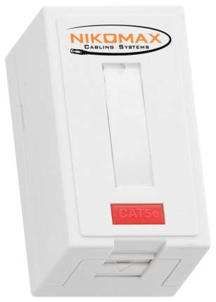 Компьютерная розетка Nikomax NMC-WO1UD2-FT-ST-WT