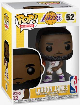 Фигурка NBA - POP! Basketball - Lebron James (White Uniform) (9.5 см)