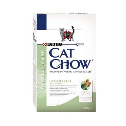 Сухой корм для кошек Cat Chow Special Care Sterilised, для стерилизованных, птица, 0,4кг