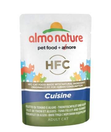 Влажный корм для кошек Almo Nature HFC Cuisine, тунец, 55г