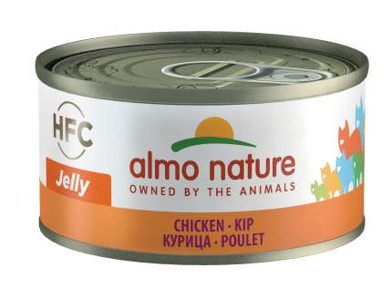 Консервы для кошек Almo Nature HFC Jelly, курица, 70г