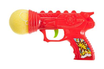 Огнестрельное игрушечное оружие Грат-Вест Пистолет с мячиком 9986A в ассортименте