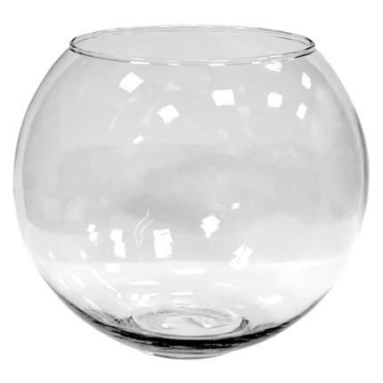 Аквариум для рыб Амма, круглый, бесшовный, 13 л