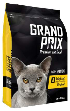Сухой корм для кошек Grand prix Adult Original, лосось, 8кг