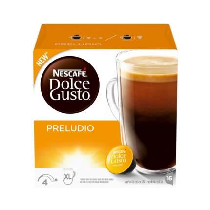 Кофе в капсулах Nescafe preludio 16 капсул
