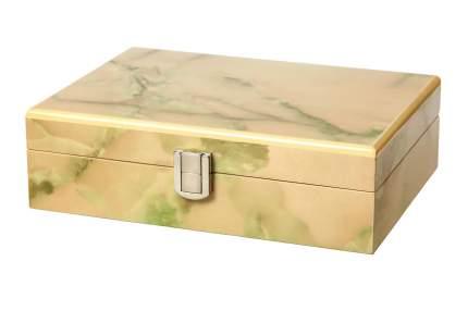 Деревянная шкатулка для украшений KPW-6177R бежевый