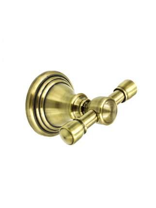 Крючок двойной BATH PLUS BRONX gold BXG-65705A