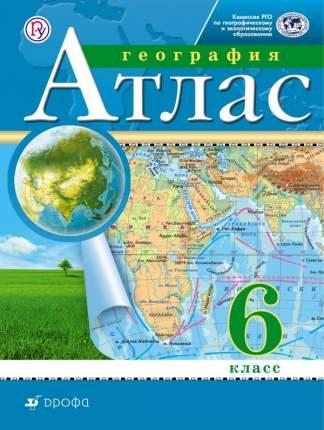 Атлас, География, 6 кл, Рго (Фгос)