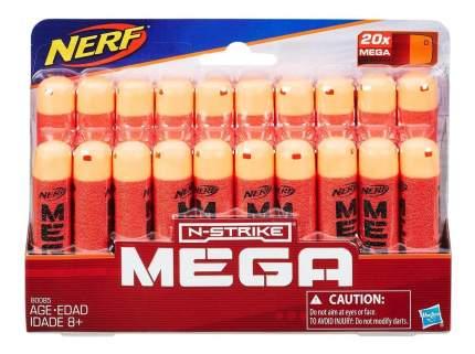 Набор пуль для Бластера Nerf мега 20 стрел b0085