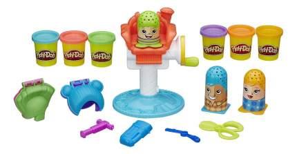 Набор для лепки из пластилина play-doh игровой сумасшедшие прически b1155