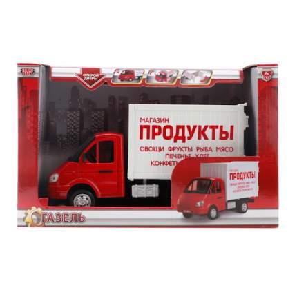 Газель Технопарк инерционная фургон продукты, со светом и звуком