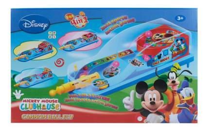 Настольная игра Disney mmch 1Toy 4 в 1 пинбол и баскетбол 56х50х5 см