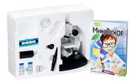 Французские опыты науки с буки Bondibon (15 экспериментов) микроскоп