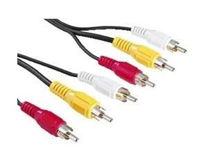 Кабель аналоговый аудио-видео interstep IS-DC-3RCA3RCA0-000B201
