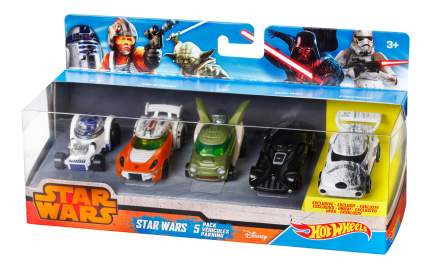 Набор машинок Hot Wheels Star Wars 5-Pack CGX36